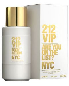 Carolina Herrera 212 VIP 200ml Body Lotion
