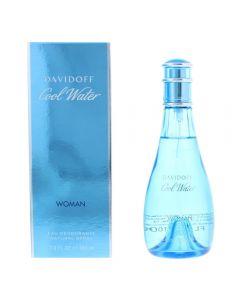 Davidoff Cool Water Woman 100ml Eau Deodorante Natural Spray