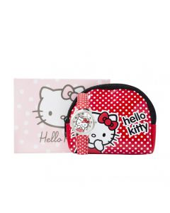 Hello Kitty Purse, Necklace & Red Polka Dot Strap Watch