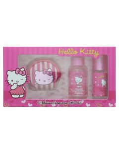 Hello Kitty Kitty Licious Fragrance Eau de Toilette 3 Pieces Gift Set