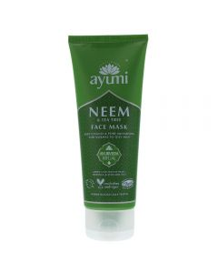 Ayumi Neem And Tea Tree Normal To Oily Skin Face Mask 100ml
