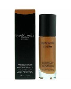 Bare Minerals Barepro Performance Wear Broad Spectrum Spf 20 Hazelnut Liquid Foundation 30ml