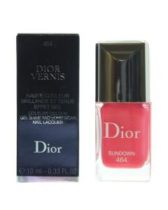 Dior Dior Vernis Couture Colour Gel Shine And Long Wear 464 Sundown Nail Polish 10ml