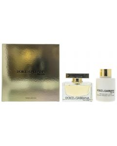 Dolce & Gabbana The One 75ml EDP Spray / 100ml Body Lotion