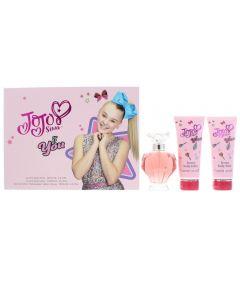 JoJo Siwa Be You Eau de Parfum 3 Pieces Gift Set : Eau de Parfum 100ml - Body Wash
