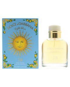 Dolce & Gabbana Light Blue Pour Homme Sun EDT Spray