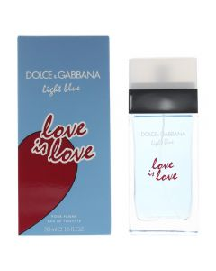 Dolce & Gabbana Light Blue Love is Love EDT Spray