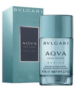 Bulgari Aqua Pour Homme Marine 75ml Deodorant Stick Alcohol Free