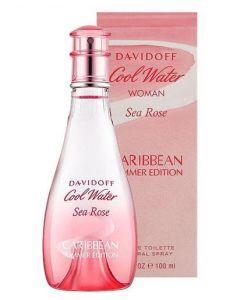 Davidoff Cool Water Woman Sea Rose Caribbean Summer Edition 100ml EDT Spray