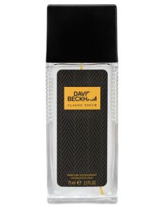 David Beckham Classic Touch 75ml Parfum Deodorant Spray
