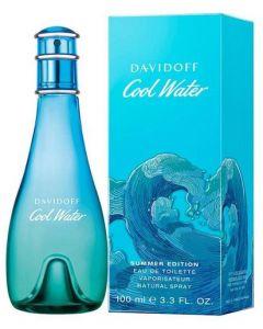 Davidoff Cool Water Woman Summer 100ml EDT Spray (2019 Edition)