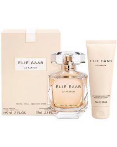 Elie Saab Le Parfum 90ml EDP Spray / 75ml Body Lotion