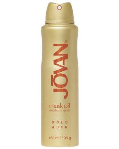 Jovan Musk Oil Gold 150ml Deodorant Spray