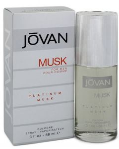 Jovan Platinum Musk 88ml Cologne Spray