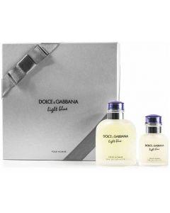 Dolce & Gabbana Light Blue Pour Homme 125ml EDT Spray / 40ml EDT Spray