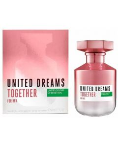 Benetton United Dreams Together Woman 80ml EDT Spray