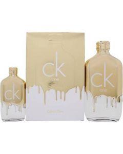 Calvin Klein CK One Gold 200ml EDT Spray / 50ml EDT Spray