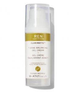 REN 50ml Clarimatte T-Zone Balancing Gel Cream
