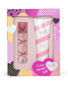 Aquolina Pink Sugar 100ml EDT Spray / 250ml Body Lotion