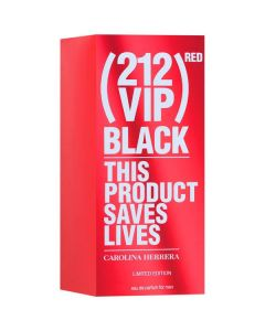 Carolina Herrera 212 VIP Black Red for Men 100ml EDP Spray