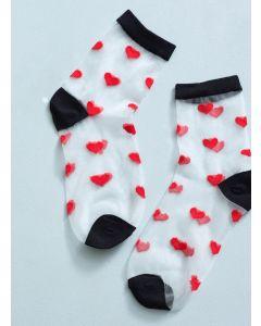 Romantic Heart Socks